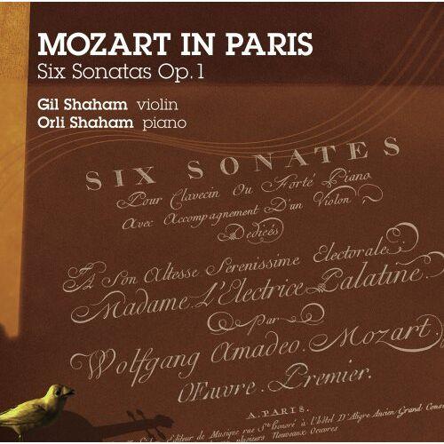 Gil Shaham - MOZART in PARIS - Sonaten für Violine und Klavier - Preis vom 19.06.2021 04:48:54 h