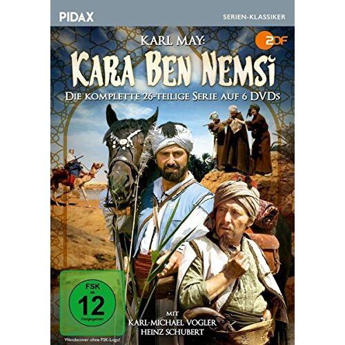 Karl-Michael Vogler - Karl May: Kara Ben Nemsi / Die komplette 26-teilige Abenteuerserie (Pidax Serien-Klassiker) [6 DVDs] - Preis vom 14.06.2021 04:47:09 h