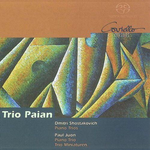 Trio Paian - Schostakowitsch: Klaviertrio Nr. 1 op. 8 & Nr. 2 op. 67 / Paul Juon: Klavier Trio op. 17 / Trio-Miniaturen - Preis vom 19.06.2021 04:48:54 h
