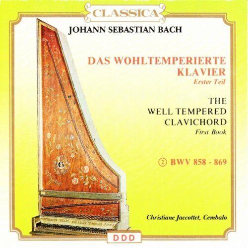 Bach - Wohltemperierte Klavier V.2 - Preis vom 19.06.2021 04:48:54 h