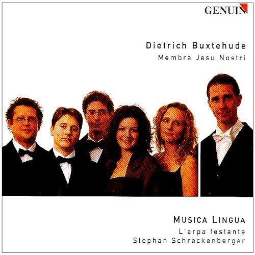 Musica Lingua - Buxtehude: Membra Jesu Nostri - Preis vom 25.07.2021 04:48:18 h