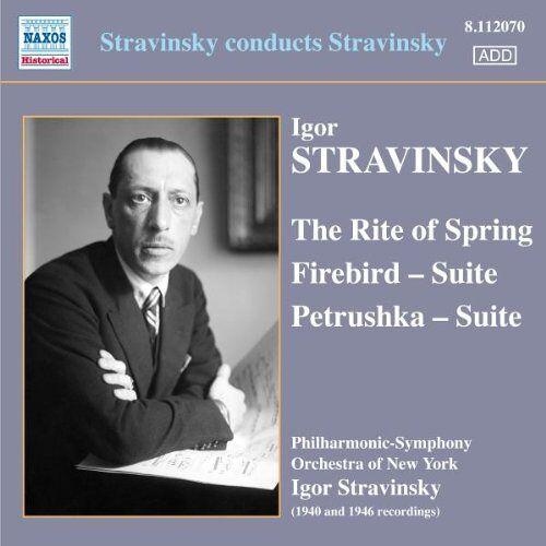 Igor Strawinsky - Strawinsky Dirigiert Strawinsky - Preis vom 20.06.2021 04:47:58 h