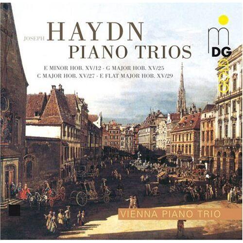 Wiener Klaviertrio - Klaviertrios Hob.XV/12,25,27 & 29 - Preis vom 19.06.2021 04:48:54 h