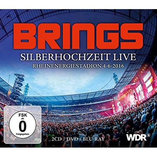 Brings - Silberhochzeit Live (Box Set 2CD/DVD/Bluray) - Preis vom 15.06.2021 04:47:52 h
