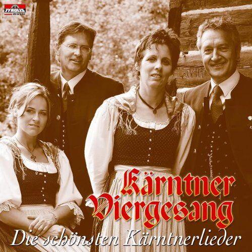 Kärntner Viergesang - Die Schönsten Kärntnerlieder - Preis vom 14.06.2021 04:47:09 h