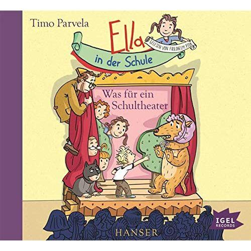 Timo Parvela - Ella in der Schule: Was für ein Schultheater - Preis vom 18.06.2021 04:47:54 h