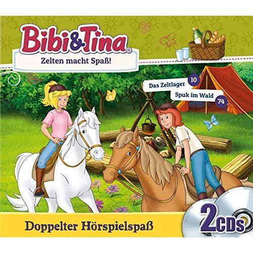 Bibi & Tina - Zelten Macht Spaß - Das Zeltlager + Spuk im Wald - Preis vom 26.09.2021 04:51:52 h