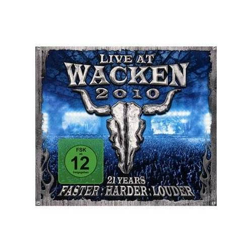 Various - Wacken 2010-Live at Wacken Open Air Incl.Bluray - Preis vom 13.06.2021 04:45:58 h