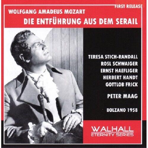 Mozart:Entfuehrung aus dem Ser - Die Entführung aus dem Serail: Stich-Ran - Preis vom 12.06.2021 04:48:00 h