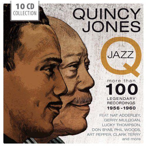 Quincy Jones - Quincy Jones-the Jazz Recordings - Preis vom 19.06.2021 04:48:54 h