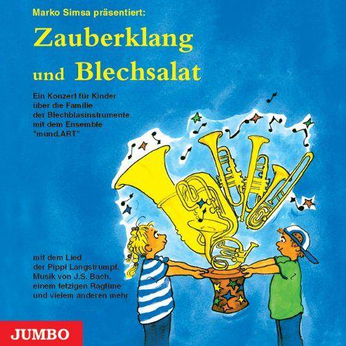 - Blechsalat und Zauberklang. CD: Ein Konzert für Kinder über die Familie der Blechblasinstrumente mit dem Ensemble 'mundArt' - Preis vom 13.10.2021 04:51:42 h