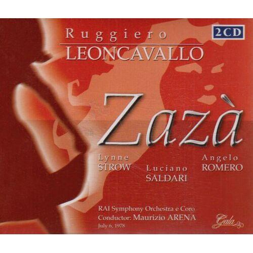 Ruggiero Leoncavallo - Zaza - Preis vom 19.06.2021 04:48:54 h