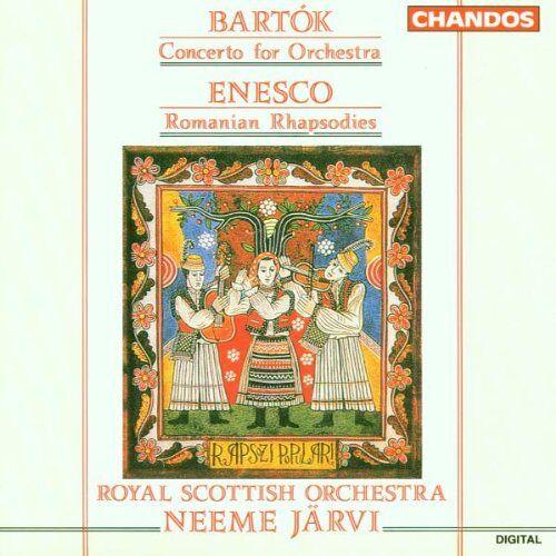 Neeme Järvi - Konzert für Orchester / Rumänische Rhapsodie - Preis vom 17.06.2021 04:48:08 h