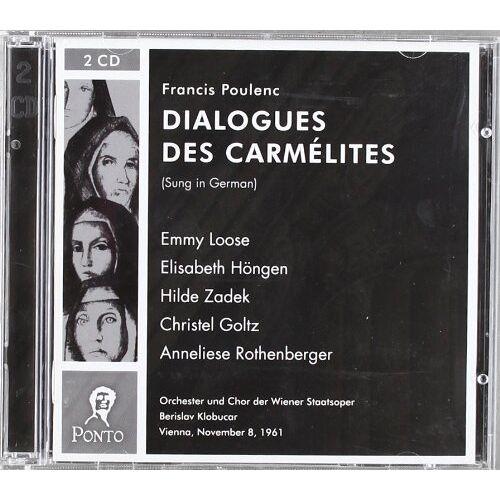 Emmy Loose - Dialogues des Carmelites - Preis vom 16.06.2021 04:47:02 h
