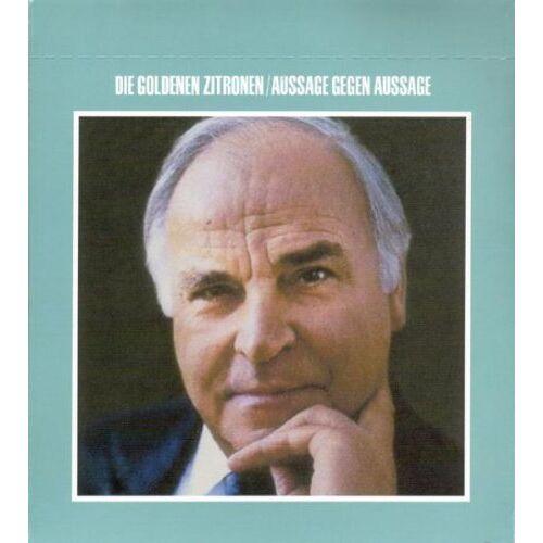 die Goldenen Zitronen - Aussage Gegen Aussage (1984-2002) - Preis vom 20.09.2021 04:52:36 h
