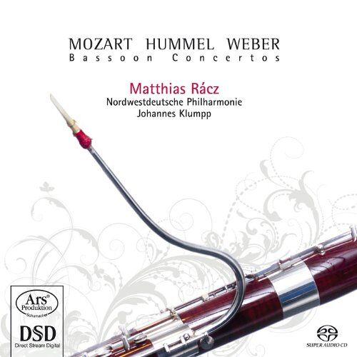 Matthias Racz (Fagott) - Mozart/Hummel/Weber:Fagottkonzerte - Preis vom 23.07.2021 04:48:01 h
