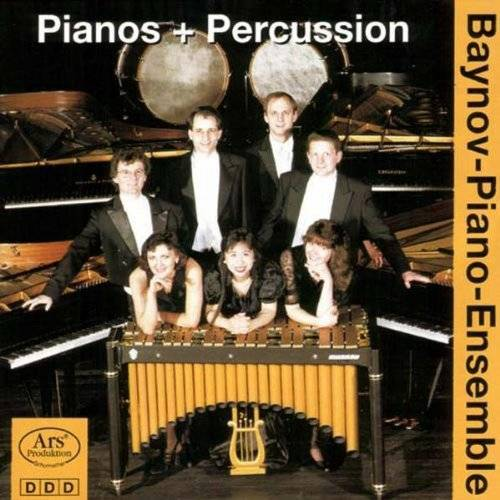 Baynov-Piano-Ensemble - Pianos + Percussion - Preis vom 19.06.2021 04:48:54 h