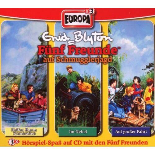 Fünf Freunde - 09/3er Box-auf Schmugglerjagd - Preis vom 15.06.2021 04:47:52 h