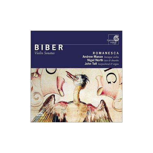 Romanesca - Violin Sonatas - Preis vom 03.05.2021 04:57:00 h