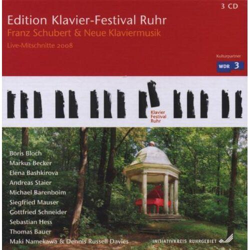 Various - Klavier-Festival Ruhr 2008 Schubert & Neue Klavier - Preis vom 19.06.2021 04:48:54 h