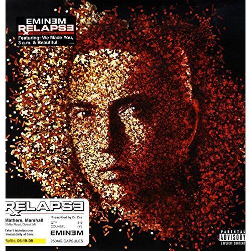 Eminem - Relapse [Vinyl LP] - Preis vom 22.06.2021 04:48:15 h