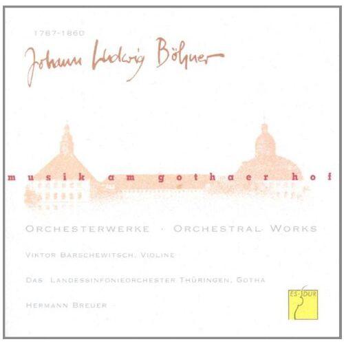 Barschewitsch - Musik am Gothaer Hof Vol. 1 - Preis vom 11.06.2021 04:46:58 h