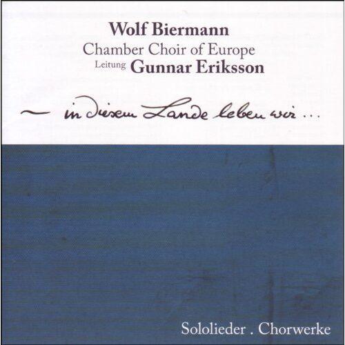 Wolf Biermann - In Diesem Lande Leben Wir - Preis vom 08.06.2021 04:45:23 h