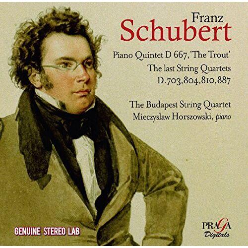 Mieczyslaw Horszowski - Streichquartette 12-15... - Preis vom 18.10.2021 04:54:15 h