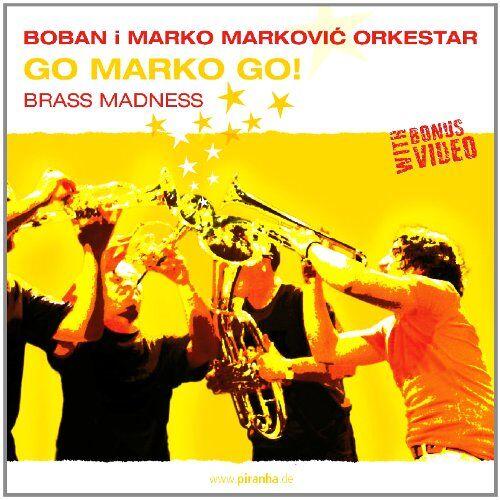 Markovic, Boban I Marko Orkest - Go Marko Go!Brass Madness - Preis vom 09.06.2021 04:47:15 h