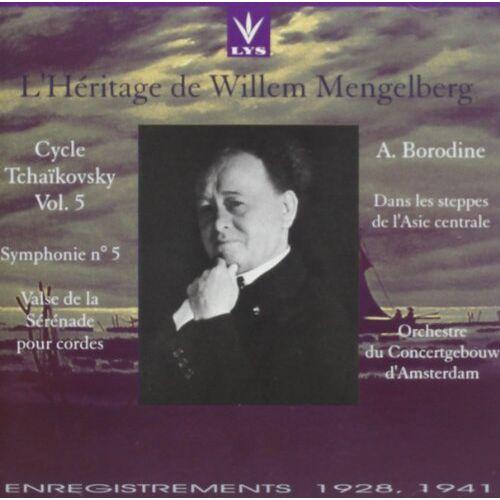Willem Mengelberg - Mengelberg/Tschaik.-Vol.5 - Preis vom 11.06.2021 04:46:58 h