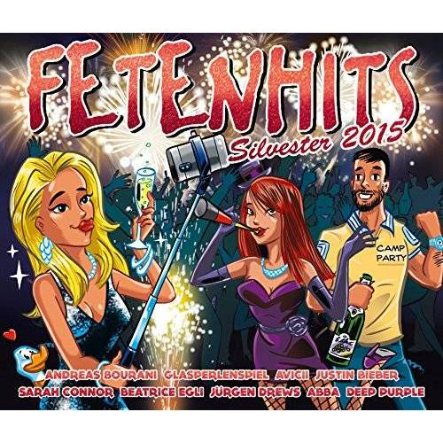 Various - Fetenhits Silvester 2015 - Preis vom 17.06.2021 04:48:08 h