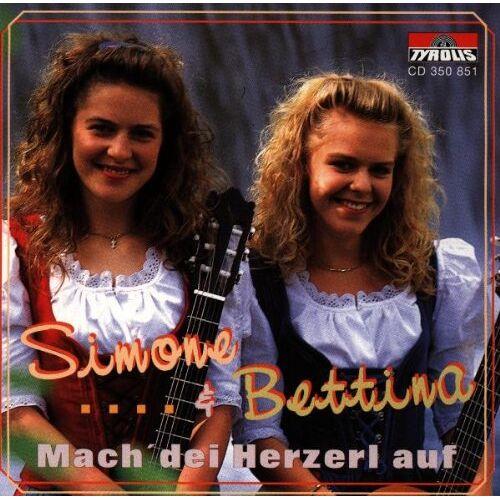Simone & Bettina - Mach' Dei Herzerl auf - Preis vom 16.05.2021 04:43:40 h