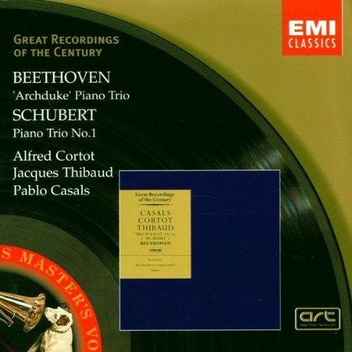 Cortot - Klaviertrio Op. 97 / Klaviertrio D 898 - Preis vom 19.06.2021 04:48:54 h