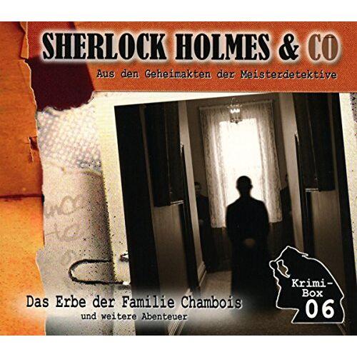 Sherlock Holmes & Co - Sherlock Holmes & Co-die Krimi Box 6 (3cd) - Preis vom 12.06.2021 04:48:00 h