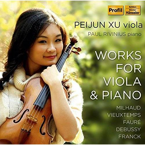 Peijun Xu (Viola) - Werke für Viola und Klavier - Preis vom 17.06.2021 04:48:08 h