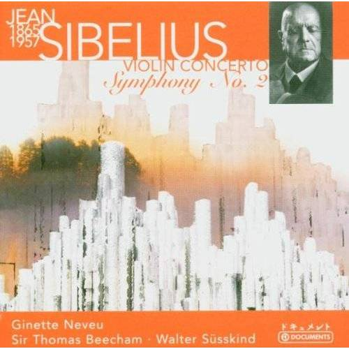 Po, Suesskind, Rpo, Beecham, Neveu - Violinkonzert Op.47 & Sinfonie Nr.2 Op.43 - Preis vom 11.06.2021 04:46:58 h