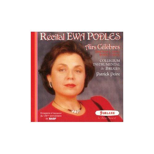 Ewa Podles - Récital Ewa Podles - Airs Célèbres - Preis vom 01.08.2021 04:46:09 h