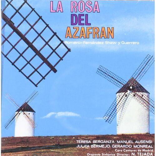 Zarzuelas - La Rosa Del Azafran - Preis vom 23.07.2021 04:48:01 h