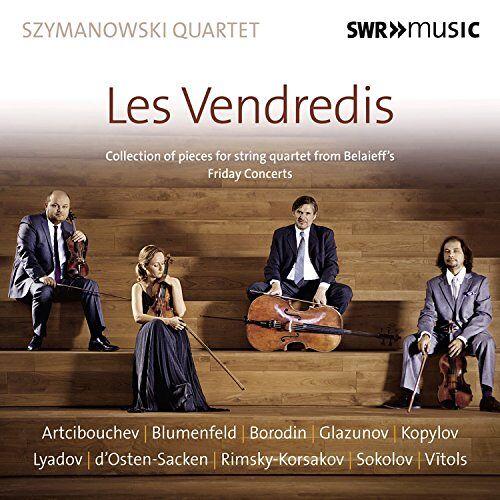 Szymanowski Quartet - Szymanowski Quartet: Les Vendredis - Preis vom 16.06.2021 04:47:02 h