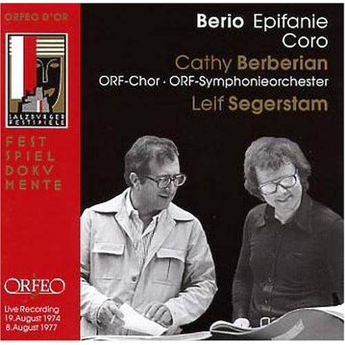 Berbérian - Epifanie/Coro - Preis vom 16.06.2021 04:47:02 h