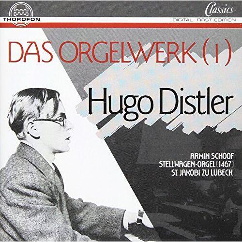 Distler - Organ Works 1 - Preis vom 16.06.2021 04:47:02 h