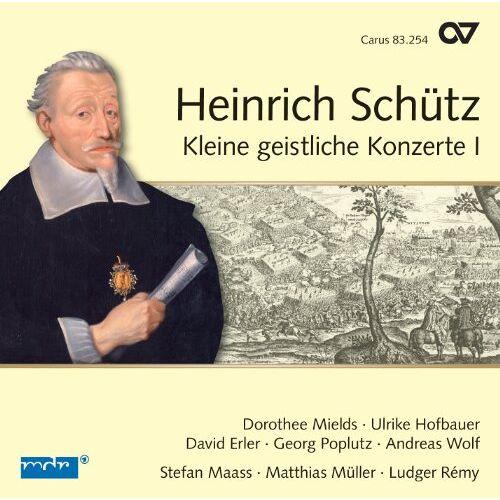 Mields - Schütz: Kleine geistliche Konzerte Vol.1 - Preis vom 14.06.2021 04:47:09 h