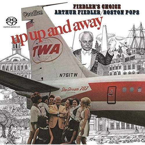 Fiedler, Arthur & the Boston Pops - Up,Up and Away & Fiedler'S Choice - Preis vom 11.06.2021 04:46:58 h