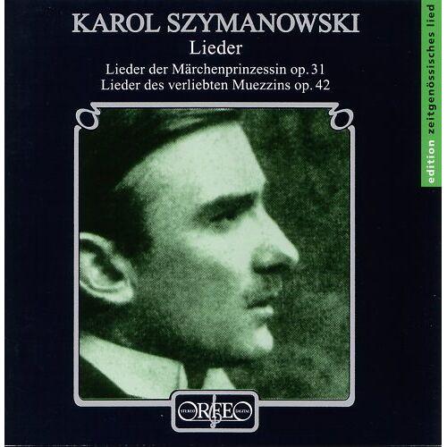 Claudia Barainsky - Lieder. Lieder der Märchenprinzessin op.31 / Lieder des verliebten Muezzins op.42 - Preis vom 22.06.2021 04:48:15 h
