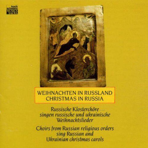 Russische Klosterchöre - Weihnachten in Russland - Russische Klosterchöre singen russische und ukrainische Weihnachtslieder - Preis vom 17.05.2021 04:44:08 h
