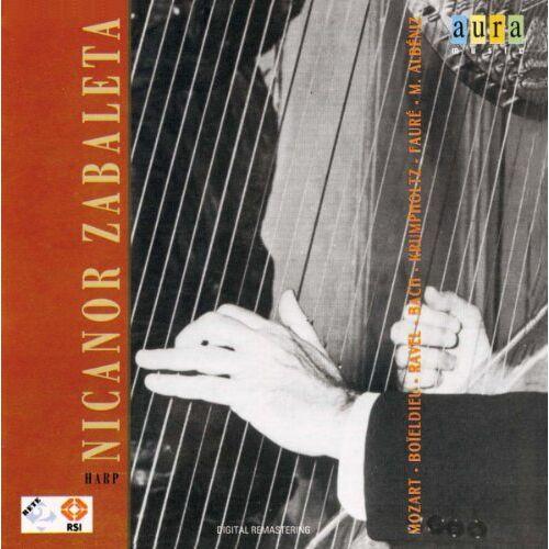 Nicanor Zabaleta - Nicanor Zabaleta-Harp - Preis vom 15.06.2021 04:47:52 h