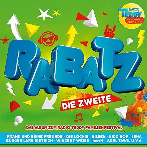 Various - Radio Teddy-Rabatz die Zweite - Preis vom 09.06.2021 04:47:15 h