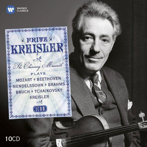 Fritz Kreisler - Icon:Fritz Kreisler - Preis vom 22.06.2021 04:48:15 h