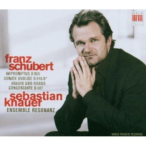 Sebastian Knauer - Klavierwerke d 935,916b,487 - Preis vom 19.06.2021 04:48:54 h