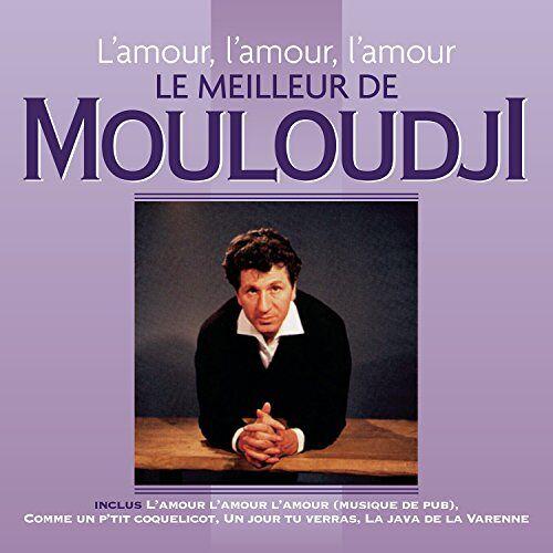 Mouloudji - L'amour, L'amour, L'amour - Le Meilleur De Mouloud - Preis vom 16.06.2021 04:47:02 h